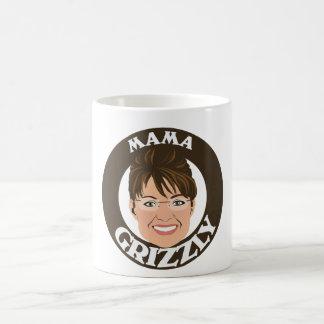 Mama Grizzly Sarah Palin Classic White Coffee Mug