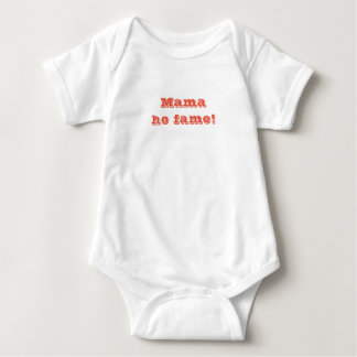 mama. ho fame baby bodysuit