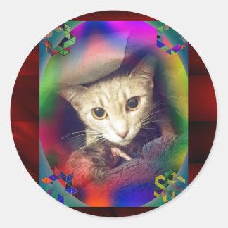 Mama Mimi Classic Round Sticker