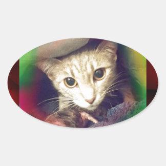 Mama Mimi Oval Sticker