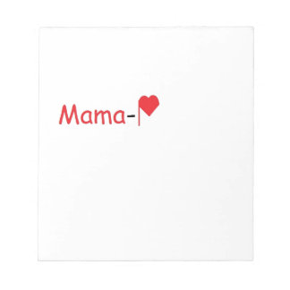 Mama-P Logo Products Notepad