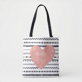 Mama Style Custom All-Over-Print Tote Bag