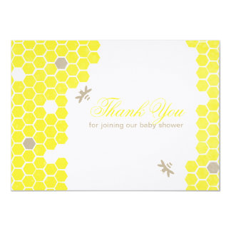 "Mama to bee Thank You Card 4.5"" X 6.25"" Invitation Card"