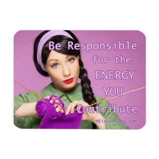 Mama Told Me...Be Responsible Rectangular Photo Magnet