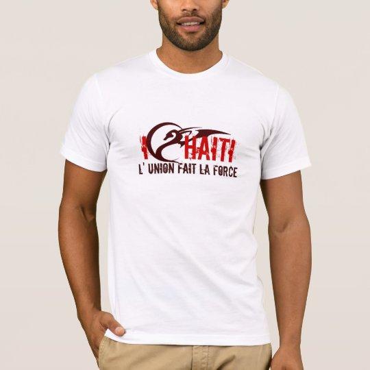 mamajuana red logo copy, I     HAITI, L' UNION ... T-Shirt