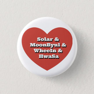 Mamamoo Love 1 Inch Round Button