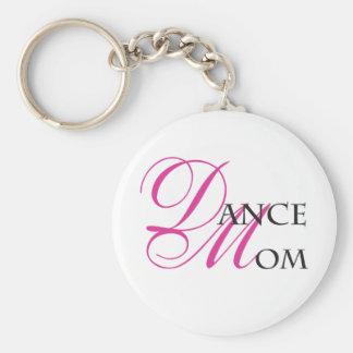 Maman 01 de danse porte-clé rond