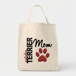 Maman 2 de Terrier australien Sac En Toile Épicerie