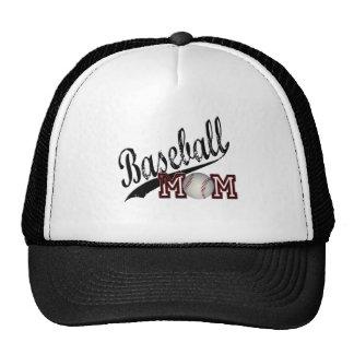 Maman de base-ball casquettes