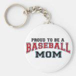 maman de base-ball porte-clef