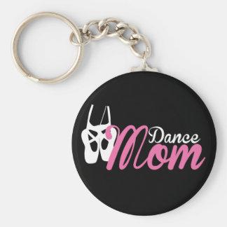 Maman de danse porte-clé rond