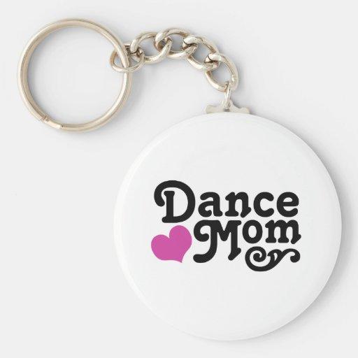 Maman de danse porte-clés