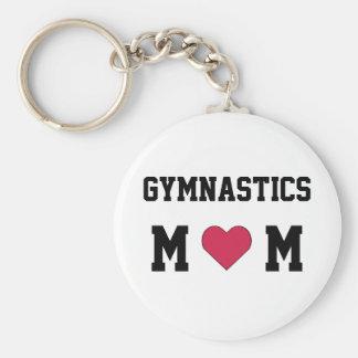 Maman de gymnastique porte-clef