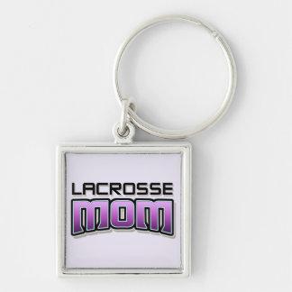 MAMAN de lacrosse Porte-clés