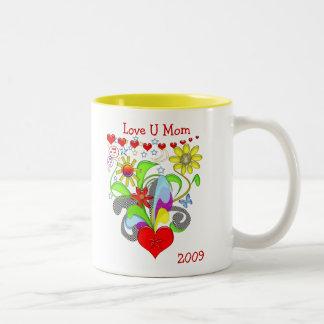 Maman de l'amour U Mug À Café