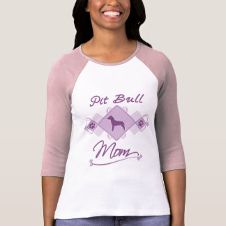 Maman de pitbull t-shirts