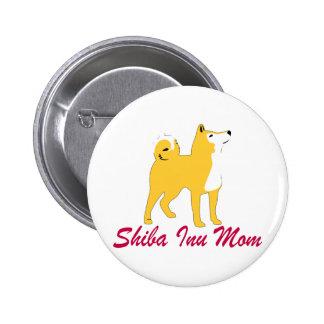 Maman de Shiba Inu Pin's