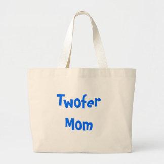Maman de Twofer Sac En Toile Jumbo