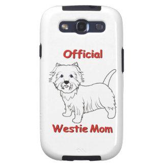 Maman de Westie Coques Galaxy S3