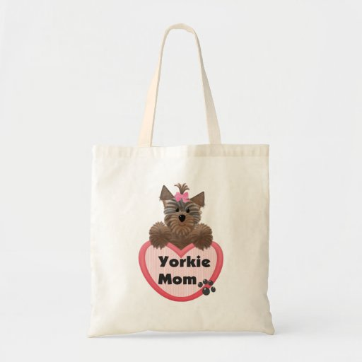 Maman de Yorkie Sac Fourre-tout