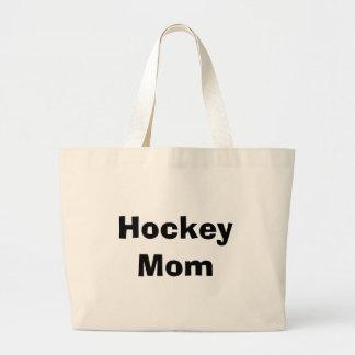 Maman d'hockey sac en toile jumbo