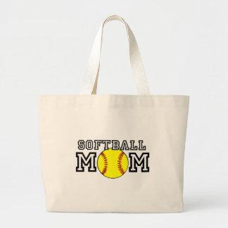 Maman du base-ball sac en toile jumbo