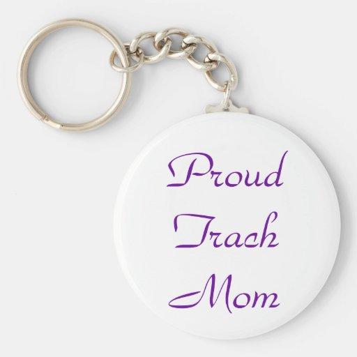 Maman fière Keychain de Trach Porte-clef