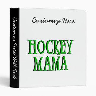 Maman Green T-shirts et cadeaux d'hockey Classeurs Vinyle