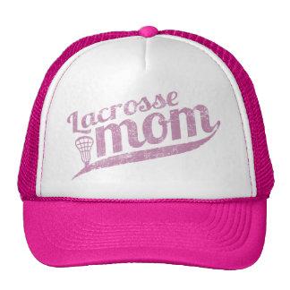 Maman vintage de lacrosse casquettes