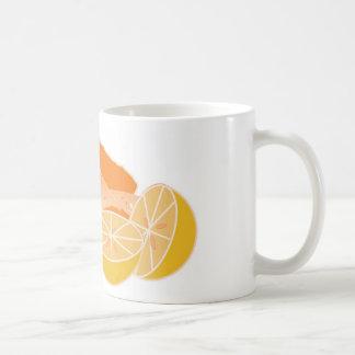 mamao e laranja fruta de fazer vitamina bebida mugs