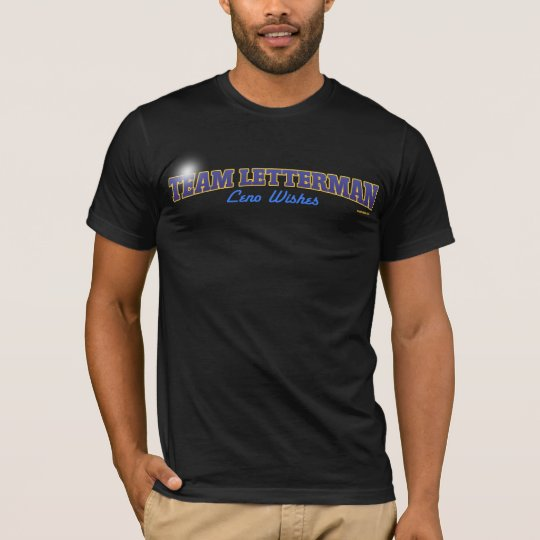 MamaPop.com - Team Letterman Leno Wishes T-Shirt