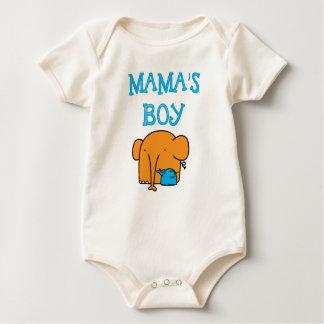 Mama's boy babysuit baby bodysuit