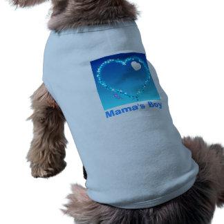 Mamas Boy Doggie Ribbed Tank Top Doggie Tshirt
