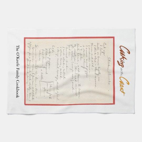 Mama's Chicken Gumbo Recipe Hand Towels