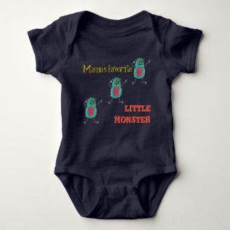 Mama's favorite little monster... baby bodysuit
