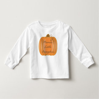Mama's Little Pumpkin Toddler T-shirt