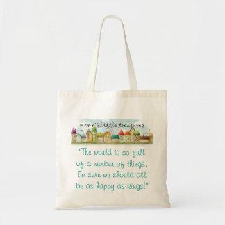 mama's little treasures tote bag