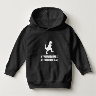 Mamasaurus Dinosaur Ate Mama Bear Hoodie