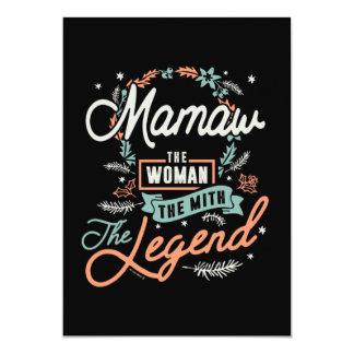 Mamaw The Legend Card