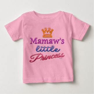 Mamaw's Little Princess Baby Toddler T-Shirt