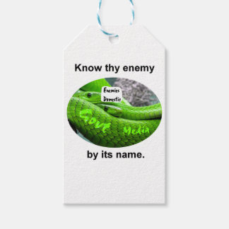 Mamba Snake - Know Thy Enemy By Its Name Gift Tags