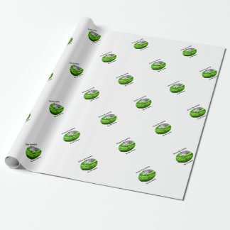 Mamba Snake - Know Thy Enemy By Its Name Wrapping Paper