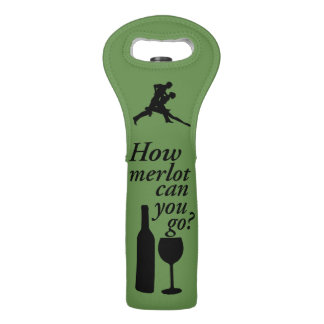 Mambo Wine Dance Party by Mini Brothers Wine Bag