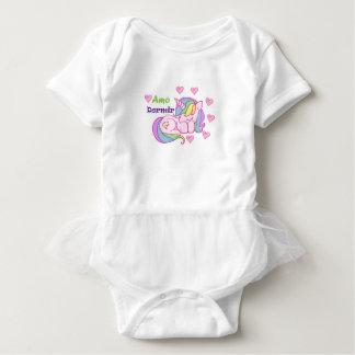 Mameluco with Ballet tutu for baby body unicornio Baby Bodysuit