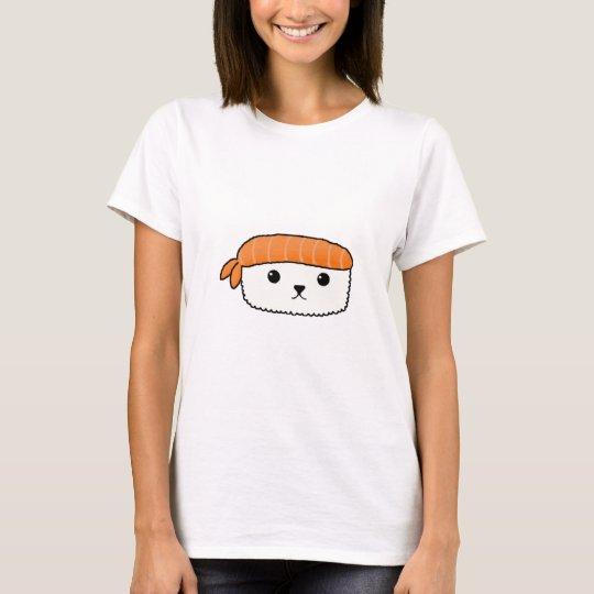 Mamesushi - Cute Sushi design - Kawaii DayZoo Cafe T-Shirt