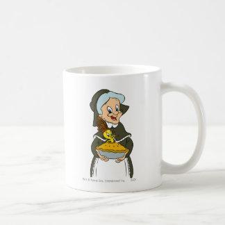 Mamie et tarte de Tweety Mugs À Café