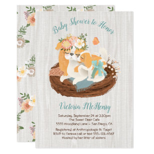 Puppy dog baby shower invitations announcements zazzle ca mamma dog baby puppy baby shower invitations filmwisefo