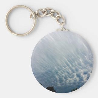 Mammatus_Clouds.JPG Basic Round Button Keychain