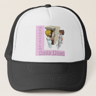 Mammograms Breast Cancer Hat