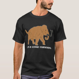 Mammoth-1, I am a woolly mammoth. T-Shirt